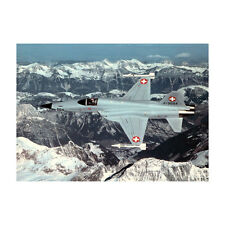 Swiss Air Force - F-5 Tiger - Aircraft Postcard - Good Quality