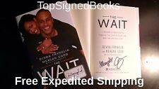SIGNED The Wait: Powerful Practice for Finding Love by DeVon Franklin, HC, new