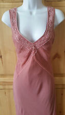 GORGEOUS SIZE 10 DESIGNER BEAD SEQUINED DRESS COCKTAIL CRUISE BALL WEDDING PROM