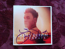James Durbin cd Celebrate signed autographed by American Idol finalist 2011
