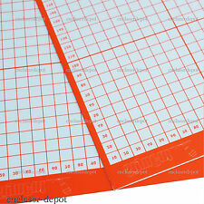 2pcs A3 Size Non Slip Cutting Mat for Cutting Plotter with Craft Sticky Printed