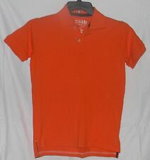 77Kids by AE Polo Pique Shirt Orange Size 12 L by American Eagle Cotton S/Sleeve