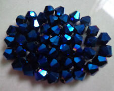 Wholesale 100pcs Crystal Bicone Beads For Jewelry DIY Making  4mm  AB Colors