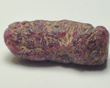 17.90 ct Genuine Mine Rough Unheated Ruby Mozambique. No Reserve.