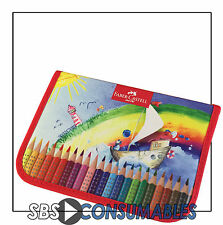 FABER-CASTELL - ERGO GRIP PENCIL CASE - COOL PENCIL CASE FOR KIDS.  57 30 01