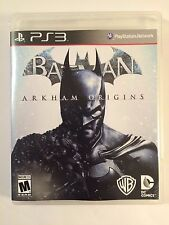 Batman Arkham Origins - Playstation 3 - Replacement Case - No Game