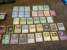 pokemon card lot 20 cards (all cards from base set through Generations)