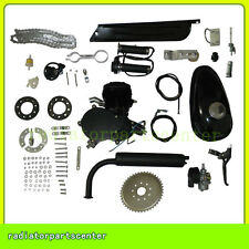 NEW Black 80cc 2-Stroke Motor Engine Kit Gas for Motorized Bicycle Bike