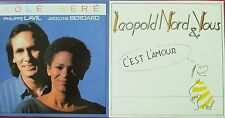 """CD SINGLE - PHILIPPE LAVIL """"KOLE SERE"""" / LEOPOLD NORD ET VOUS """"C'EST L'AMOUR"""""""