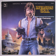 SOUNDTRACK: Invasion Usa LP (slight small corner bend) Soundtrack & Cast