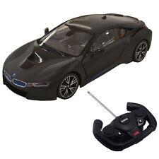 1:14 BMW I8 Licensed Radio RC Car Remote Control w/Opening Vertical Door Black