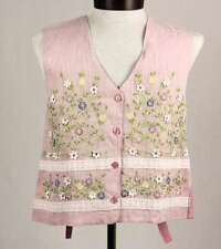 Mascot Vest Pink Floral Full Back Costume Accessory Bunny Vest Small