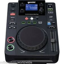 GEMINI CDJ-300 DJ MEDIA PLAYER - CD / MP3 / USB / CDJ300 / Authorized Dealer
