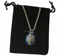 Vampire Diaries Salvatore Family Crest Ring Necklace Pendant DAMON - FAST DISPA