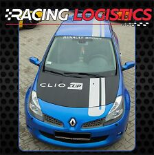 Renault Clio Sport RS MK3 Roof Hood Bonnet Hatch Stripes  Decals Stickers Vinyl