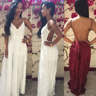 Sexy Lace Long Maix Dress Evening Formal Party Dress Bridesmaid Prom Gown