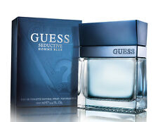 Guess Seductive Homme Blue Cologne Perfume EDT Spray 3.4 oz for Men NIB SEALED