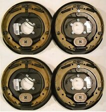 "Four (4) -12"" x 2"" Complete Electric Trailer Backing Plates"