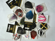 30 TARGET STRONG STANDARD DART FLIGHTS 10 SETS VALUE PACK