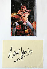 NEIL YOUNG SINGER SONGWRITER ,GENUINE AUTOGRAPH