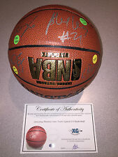 2013 2014 PHOENIX SUNS TEAM SIGNED SPALDING I/O BASKETBALL DRAGIC FRYE LEN-COA