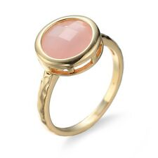 Women's Finger Ring Retro Round Opal Wedding Gold Filled Jewelry Vintage 5 Sizes