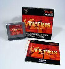 V-TETRIS für Nintendo Virtual Boy - komplett mit VB Modul, Anleitung, OVP 3D