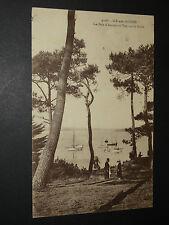 ÎLE-AUX-MOINES (MORBIHAN) - LE BOIS D'AMOUR ET VUE SUR LE GOLFE - 1928