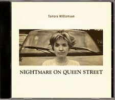Tamara Williamson - Nightmare On Queen Street  VERY RARE Autographed Indie CD