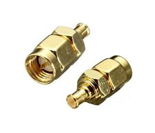 SMA Male jack to MCX male plug RF coaxial adapter connector F6210K