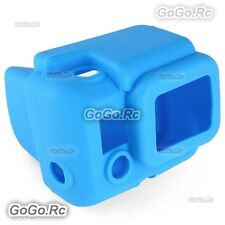Bule Soft Silicone Case Cover Protector Accessories for GoPro Hero 3 - GP55BU
