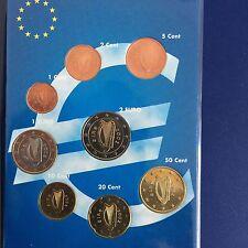 Kms monedas de curso conjunto Irlanda 2002 - 1 Cent a 2 euros-unz./UNC. - raras -