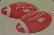 """2 Football Inflates   14"""" Fun Party Favor"""