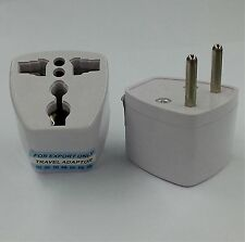 2 Pins US EU Europe UK to AU Australia Power Plug Adapter - Free Uk Post