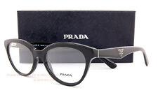 Brand New Prada Eyeglass Frames 11R 11RV 1AB 1O1 BLACK Women SZ 50