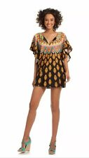 NWT $140 Sz Large L TRINA TURK Moroccan Medallion Tunic Swimsuit Cover-up