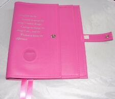 Narcotics Anonymous NA Basic Text How and Why Pink Deluxe Double Book Cover