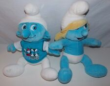 Build a Bear Smurf  Smurfette Plush Stuffed Animal