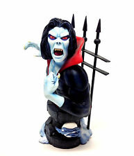 "Marvel Comics classic 70's Spiderman Villain MORBIUS 7"" statue bust figure + box"