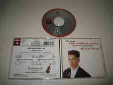 NIGEL KENNEDY/VIVALDI: THE FOUR SEASONS(EMI CDC 7 49557 2) CD ALBUM