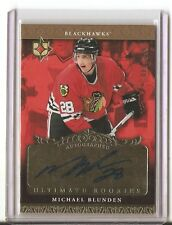 2006-07 Ultimate Collection #106 Michael Blunden AU RC 88/299 Chicago Blackhawks