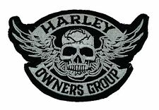 Harley Owners Club - Embroidered Motorcycle/Biker Patch