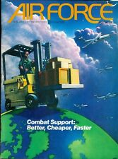 1989 Air Force Magazine: Combat Support- Better, Cheaper, Faster