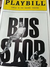 """Playbill from the 1996 Broadway Play """"Bus Stop"""""""