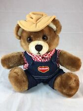 COUNTRY YUMKINS Del Monte Plush Brawny Bear Toy (B362-G)