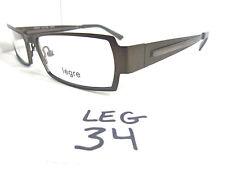 New LEGRE Eyeglasses Frame/Specs Dark Brown Metal Men's LE5025 (LEG-34)