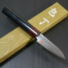 "Japanese SETO ISEYA Hammered Damascus VG10 Paring Knife 3"" From Seki Japan I-0"