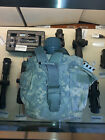 Made in USA ARMY MOLLE GENERAL 1 QT Utility Pouch ACU COVER + CANTEEN USGI