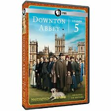 Downton Abbey: Fifth Season 5 Five (DVD, 2015, 3-Disc Set) NEW!, Fast Shipping