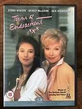 Shirley MacLaine Jack Nicholson TERMS OF ENDEARMENT ~ 1983 Oscar Winner | UK DVD
